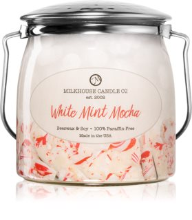 Milkhouse Candle Co. Creamery White Mint Mocha vonná svíčka Butter Jar