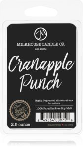 Milkhouse Candle Co. Creamery Cranapple Punch восък за арома-лампа