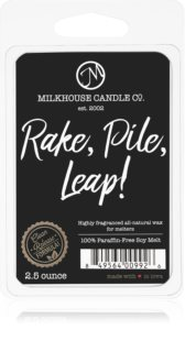 Milkhouse Candle Co. Creamery Rake, Pile, Leap! восък за арома-лампа