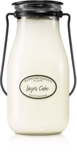 Milkhouse Candle Co. Creamery Layer Cake bougie parfumée Butter Jar