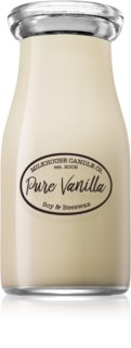 Milkhouse Candle Co. Creamery Pure Vanilla scented candle Milkbottle