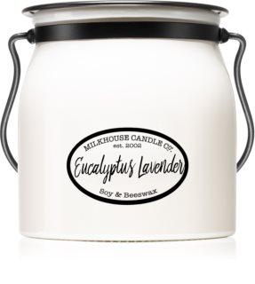 Milkhouse Candle Co. Creamery Eucalyptus Lavender bougie parfumée Butter Jar