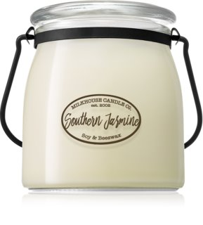 Milkhouse Candle Co. Creamery Southern Jasmine illatos gyertya  Butter Jar