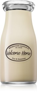 Milkhouse Candle Co. Creamery Welcome Home mirisna svijeća Milkbottle