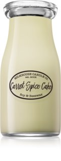 Milkhouse Candle Co. Creamery Carrot Spice Cake scented candle Milkbottle