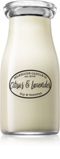 Milkhouse Candle Co. Creamery Citrus & Lavender illatos gyertya  Milkbottle