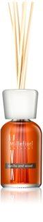 Millefiori Natural Vanilla and Wood aroma diffuser mit füllung 100 ml