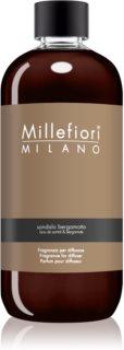 Millefiori Natural Sandalo Bergamotto reumplere în aroma difuzoarelor