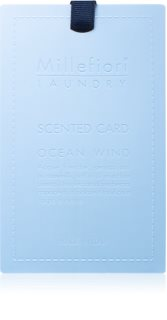 Millefiori Laundry Ocean Wind fragrance card