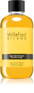 Millefiori Natural Legni e Fiori d'Arancio recharge pour diffuseur d'huiles essentielles