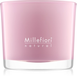 Millefiori Natural Magnolia Blossom & Wood scented candle