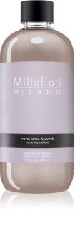 Millefiori Natural Cocoa Blanc & Woods Täyttö Aromien Hajottajille