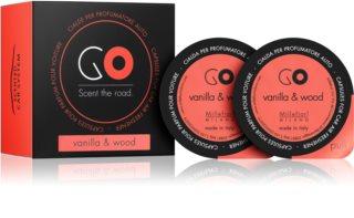 Millefiori GO Vanilla & Wood aроматизатор за автомобил резервен пълнител