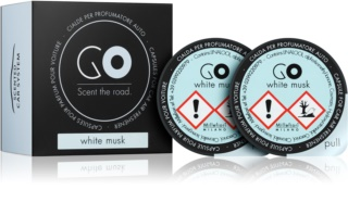 Millefiori GO White Musk luftfrisker til bil Genopfyldning