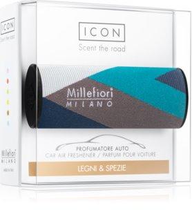 Millefiori Icon Legni & Spezie dišava za avto Textile Geometric