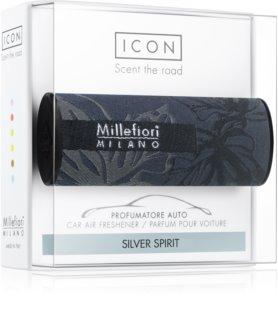 Millefiori Icon Silver Spirit mirisi za auto Textile Geometric