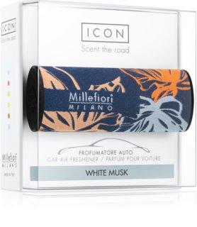 Millefiori Icon White Musk illat autóba Textile Geometric