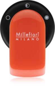 Millefiori GO Sandalo Bergamotto parfum pentru masina arancione