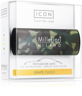 Millefiori Icon Grape Cassis vůně do auta Animalier