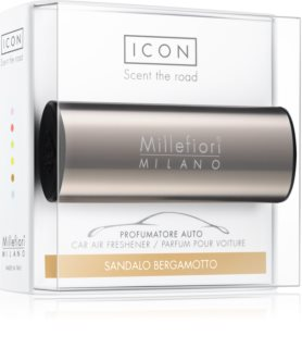 Millefiori Icon Sandalo Bergamotto miris za auto Metallo Shiny Bronze