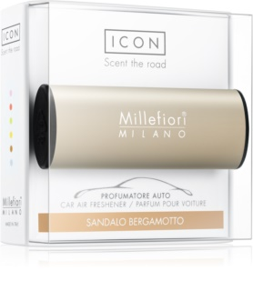 Millefiori Icon Sandalo Bergamotto miris za auto Metallo Matt Bronze