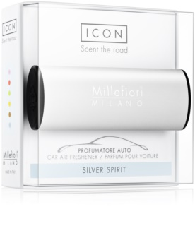 Millefiori Icon Silver Spirit car air freshener Classic