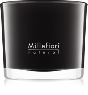 Millefiori Natural Nero mirisna svijeća