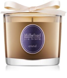 Millefiori Via Brera Cristal scented candle
