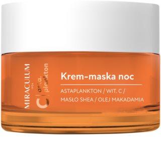 Miraculum Asta Plankton feuchtigkeitsspendende Maske und Creme für die Nacht