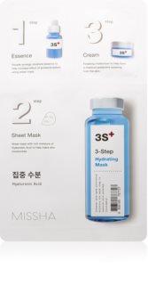 Missha 3-Step mascarilla hidratante en tres pasos