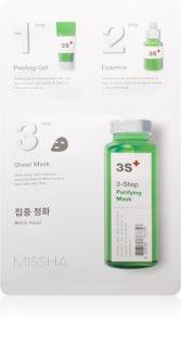 Missha 3-Step Drei-Schritt Reinigungsmaske