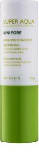 Missha Super Aqua Mini Pore štapić za čišćenje crnih mitesera