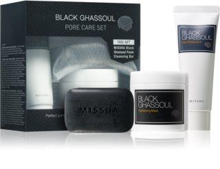 Missha Black Ghassoul Kosmetik-Set  I. für Damen