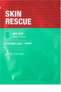 Missha For Men Skin Rescue Calming Face Sheet Mask for Men
