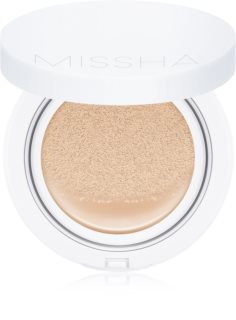 Missha Magic Cushion fond de ten hidratant, în burete SPF 50+