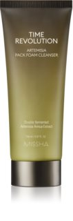 Missha Time Revolution Artemisia Foam Cleanser 2 in 1 with Soothing Effect