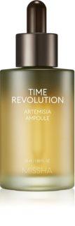 Missha Time Revolution Artemisia beruhigendes Serum gegen das Erröten der Haut