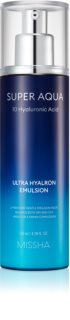 Missha Super Aqua 10 Hyaluronic Acid emulsión facial hidratante