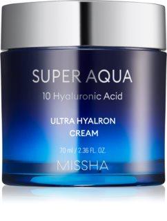 Missha Super Aqua 10 Hyaluronic Acid ενυδατική κρέμα προσώπου