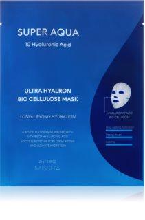 Missha Super Aqua 10 Hyaluronic Acid mascarilla hoja con efecto nutritivo e hidratación profunda