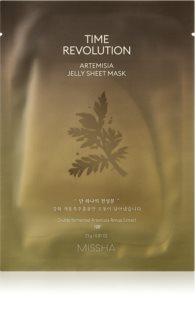 Missha Time Revolution Artemisia hydratační gelová maska