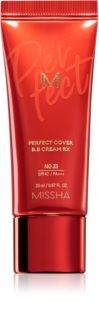 Missha M Perfect Cover RX ΒΒ κρέμα με πολύ υψηλή προστασία UV μικρή συσκευασία