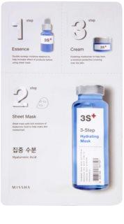 Missha 3-Step feuchtigkeitsspendende 3-Phasen-Maske