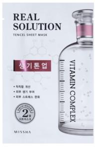 Missha Real Solution Brightening Sheet Mask