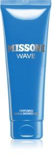 Missoni Wave gel de dus si baie pentru bărbați
