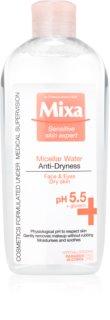 MIXA Anti-Dryness mizellares Wasser gegen das Austrocknen der Haut