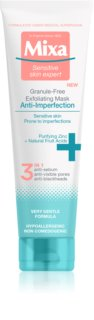 MIXA Anti-Imperfection masque nettoyant sans particules exfoliantes