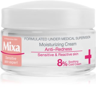 MIXA Anti-Redness crema idratante per pelli sensibili con tendenza all'arrossamento