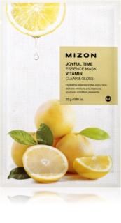 Mizon Joyful Time φύλλο μάσκας με καθαριστική και αναζωογονητική επίδραση