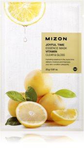 Mizon Joyful Time masque tissu purifiant et rafraîchissant